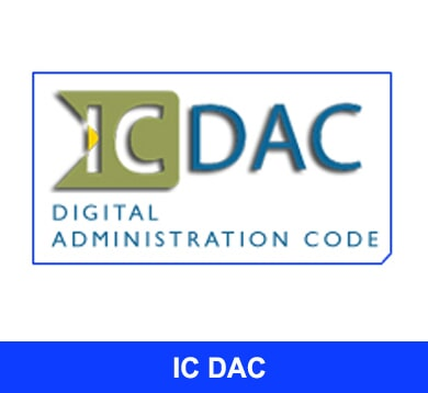IC DAC – DIGITAL TRANSFORMATION CODE